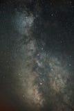 Our Galaxy Milky Way. Our home galaxy over the canyon Stock Photos