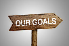 Our Goals Concept Stock Photography