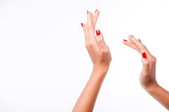 Our hands helping us to understand more each other Royalty Free Stock Photos