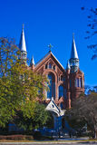 Our Heart. The historic Sacred Heart Church in Augusta, GA Stock Photography