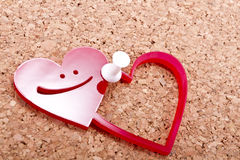 Our hearts Stock Image