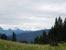 Beautiful view of Mt.Baker stock images
