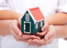 Free Our Home Is Protected Stock Photography - 23708392