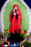 Our Lady. Artistic recreation of the Our Lady of Guadalupe Royalty Free Stock Photography