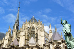 Our Lady of Amiens Cathedral in France Stock Photo