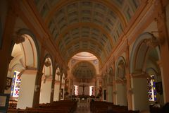 Our Lady of Angels Church, Pondicherry. India royalty free stock images
