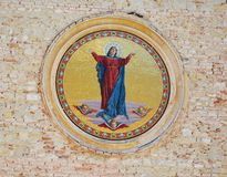 Our Lady Assumed into Heaven church in Asolo, Italy Royalty Free Stock Images