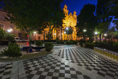 Our Lady of Carmen Church in Cadiz. Cadiz, Andalusia, Spain Stock Photography
