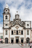 Our Lady of Carmo Basilica Recife Brazil Stock Images