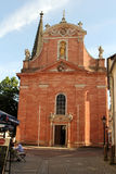 Our Lady church in Aschaffenburg, Germany Stock Photos