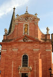 Our Lady church in Aschaffenburg, Germany Royalty Free Stock Photo