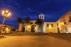Our Lady Church in Garachico. Garachico, Tenerife, Canary Islands, Spain royalty free stock photography