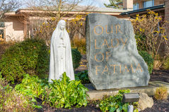 Our Lady of Fatima Catholic Church Stock Image