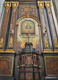 Our Lady of Grace chapel in interior of Saint Elisabeth church Royalty Free Stock Photo