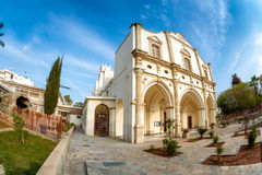 Our Lady of Graces Catholic Church. Larnaca, Cyprus Stock Photo