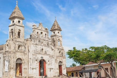 Our lady of Guadalupe Church, Granada, Nicaragua Royalty Free Stock Images
