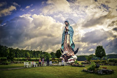 Our Lady of Guadalupe, Mother Mary Stock Images