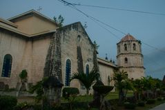 Our Lady of the Immaculate Conception catholic Church at Oslob in Sebu, Philippines Stock Photography