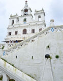 Our Lady of the Immaculate Conception Church, Goa Stock Images