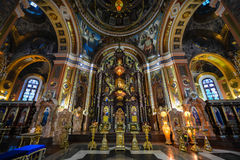 Our Lady of Kazan Church, Irkutsk Stock Images