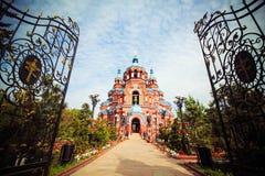 The Our Lady of Kazan, Irkutsk, Siberia, Russia Royalty Free Stock Photography