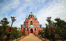 The Our Lady of Kazan, Irkutsk, Siberia, Russia Stock Photos