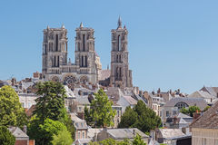 The Our Lady of Laon Cathedral Royalty Free Stock Photos