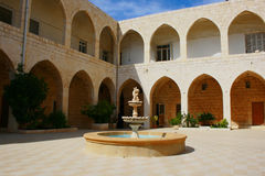 Our Lady of Light Monastery  Saydet el Nourieh. Our Lady of Light or  Saydet el Nourieh  Monastery in Arabic,in North Lebanon, is a Marian shrine in Hamat Royalty Free Stock Images