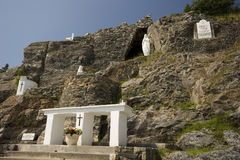 Our Lady of Lourdes Grotto Stock Images