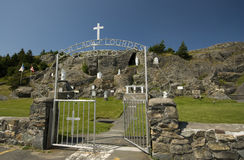 Our Lady of Lourdes Grotto Royalty Free Stock Photos