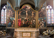 Our Lady of Mariastraat Church Bruges Stock Image