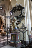 Our Lady of Mariastraat Church Bruges Royalty Free Stock Photos