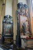 Our Lady of Mariastraat Church Bruges Stock Photos
