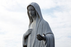 Our Lady of Medugorje Stock Photography