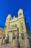 Our Lady of Mount Carmel in Gzira, Malta stock photography