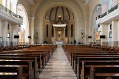 Our Lady of Mt. Carmel Shrine stock photo