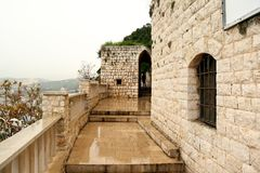 Our Lady of Nouriyeh Monastery, Lebanon Royalty Free Stock Image