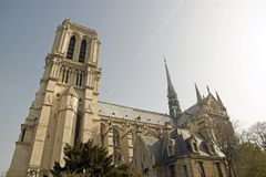 Our Lady of Paris, Notre-Dame de Paris Royalty Free Stock Images