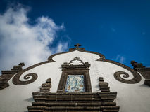Our Lady of Peace chapel entrance detail Stock Photography