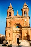 Our Lady of Pompej church at Marsaxlokk. Malta Stock Images