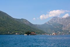 Our Lady of the Rock, Montenegro, Perast Royalty Free Stock Image