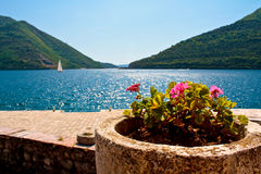 Our Lady of the Rock, Montenegro, Perast Stock Photos