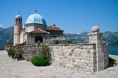 Our lady of the Rock, Perast, Kotor Bay Royalty Free Stock Image