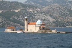 Our Lady of the Rocks, Perast, Montenegro Royalty Free Stock Images