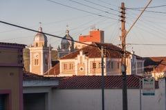 Our Lady of Rosario Church Amparo Sao Paulo Brazil Stock Photography