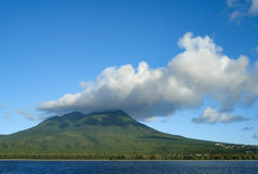 Our Lady of the Snows. Nevis. Nevis Island - Our Lady of the Snows Royalty Free Stock Images