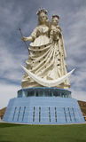 Our lady of socavon oruro bolivia. The larges statue of our lady of socavon in south amerca, oruro, bolivia Stock Photography