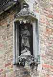 Our Lady Statue Bruges Stock Photo