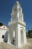 Our Lady Tsambika monastery. Rhodes. Greece. Stock Photos