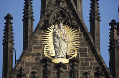 Our Lady before Tyn, Prague Royalty Free Stock Photo